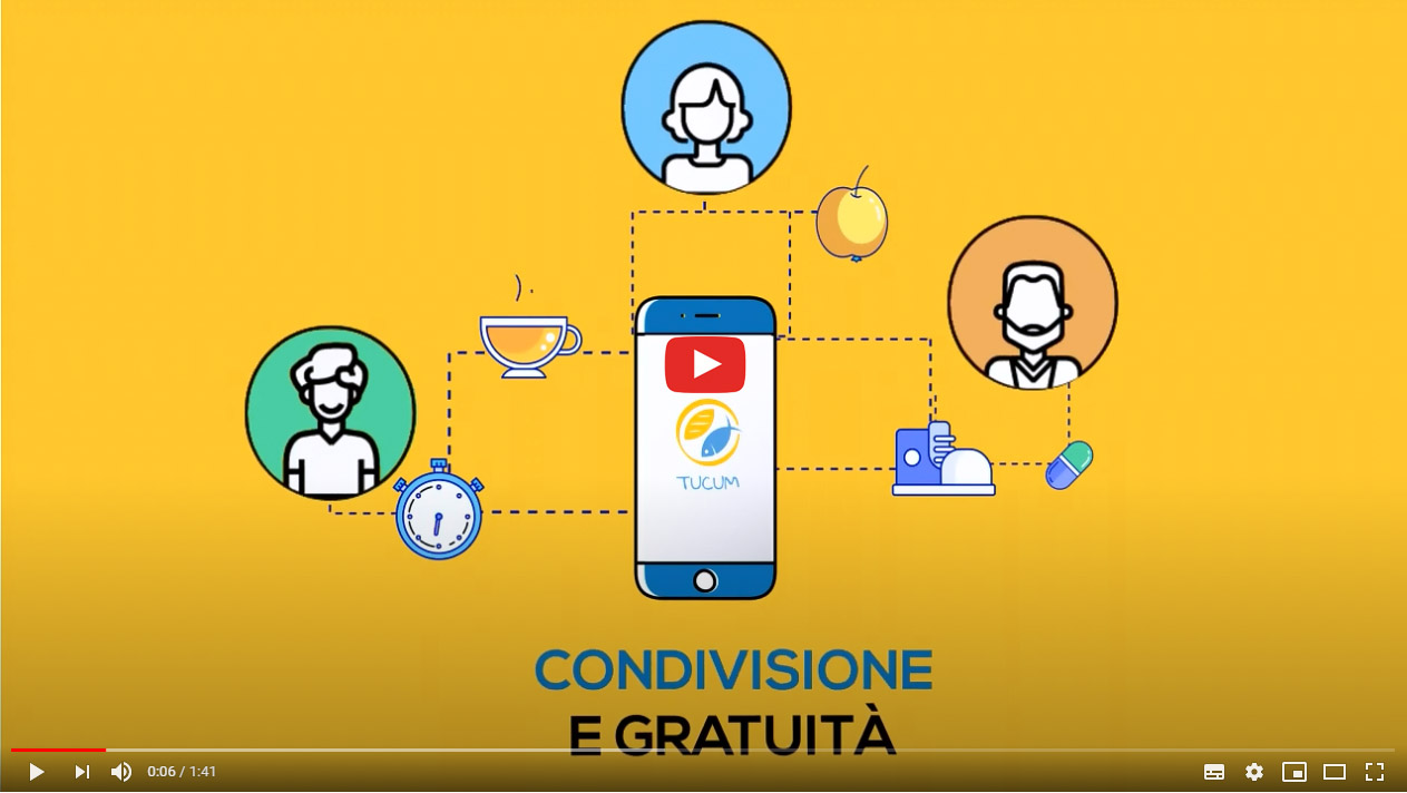 Apertura video su YouTube